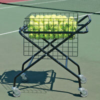 "Foldable Tennis Cart - 20""W x 30""L (250 Ball Capacity)"