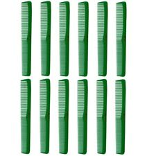 Barber Beauty Hair Cleopatra 400 All Purpose Combs (12 Pack) 12 x SB-C400-GREEN