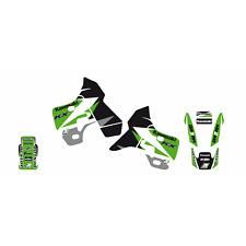 Stickers Graphic Motorcycle Kawasaki KX 500 1988 - 2004 Set Dream 3 2417E
