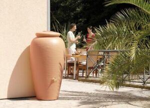 Regentonne 500 Liter Garantia Mediterrane Regen Amphore terrakotta Regentank