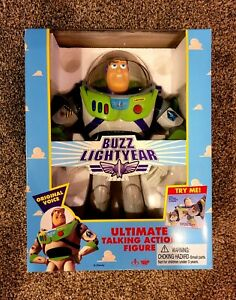 Vintage 1995 Toy Story DISNEY Original Ultimate Talking Buzz Lightyear
