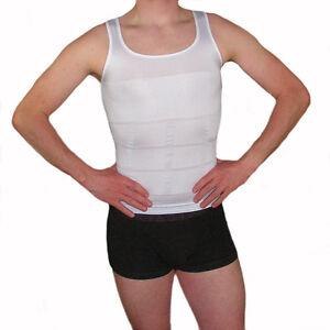 Männer Bauchweg BodyShaper Slimming T-Shirt Miederbody Taillenformer Figurformer