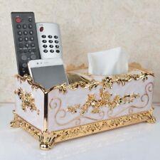 Retro Chic Tissue Box Cover Paper Napkin Holder Case Home Office Decor Organizer