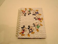 Disney Parks Mickey Mouse Diary Notebook Journal Ring Binding 100 Sheets - New