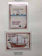 1992 Grenada Grenadines Minisheets, Discovery Voyages MNH