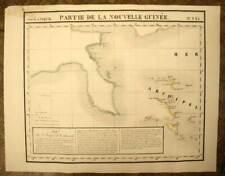 EST DE LA NOUVELLE GUINEE carte geographique de VANDERMAELEN 1827 antique map