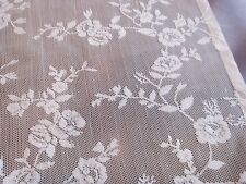 "White lace  Rose design Runner 16"" x 56"""