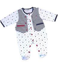 Baby-Strampler für Jungen aus Baumwollmischung
