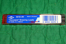 """ALVIN """"Constant"""" 4H Drawing Leads, 12 count each, 2x130mm #5018"""