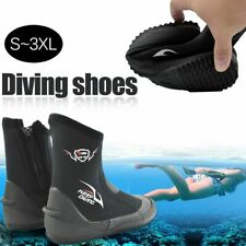 Scuba Diving Boots Water Shoes Vulcanize Winter Cold Swimming 5mm Neoprene