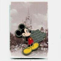 DISNEY PIN WHERE EVERYONE SCREAMS AT THE SIGHT OF A MOUSE
