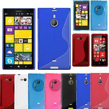 S Line Silicone Gel Case Cover For Nokia Lumia 1520,1020,820