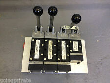 ABEX Mead Hydraulic Control Lever Manifold Valve Block Assembly