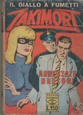 ZAKIMORT N.18 ARRESTATE NORTON ! prima serie 1a I a C.E.A. CEA gino sansoni 1967