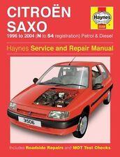 Haynes Owners + Workshop Car Manual Citroen Saxo Petrol + Diesel 96 H3506