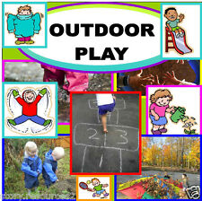 OUTDOOR PLAY Teaching resources EYFS KS1 Childminder Maths resource Role play cd