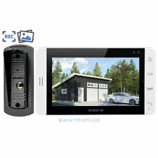 7'' Video Entry Intercom with Recording, PhotoTaking & Angle Mount HD IR Camera