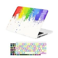"Paint Splash Rubberized Case+ 2 Keyboard Covers for MacBook Pro 13"" Model:"