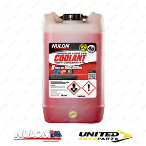 Brand New NULON Red Long Life Concentrated Coolant 20L for CITROEN DS3