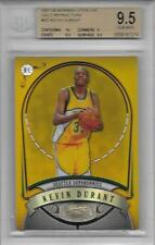 2007-08 Kevin Durant Bowman Sterling Gold Refractor RC- BGS 9.5 w/10 sub- #85/99