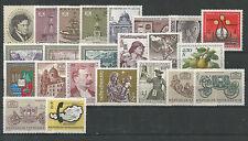 Österreich  Jahrgang 1972 postfrisch komplett