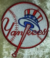 "New York NY Yankees Baseball 3.5"" Iron /Sew On Embroidered Patch~FREE Ship!"