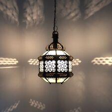 Orientalische Lampe Marokkanische Hängelampe Orient Deckenleuchte GHTH_W