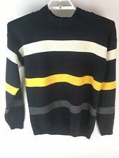 Vintage Nautica Sweater XL Knit Pullover Striped