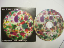 EARTH EXPERIMENT People It's Time To Change EP – 2014 UK CD – Jazz, Rock BARGAIN