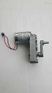 Getriebemotor Gleichstrom Motor 6 12V E-motor mit abnehmbarer Kurbel DGO-3512ADA