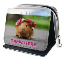 Flower in Hair Guinea Pig Girls//Ladies Denim Purse Wallet Christmas Gif GIN-5JW
