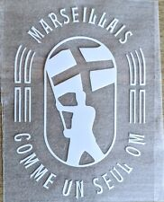 Patch Flocage Sponsor Marseillais - Comme un seul OM  Marseille Payet