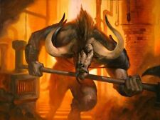 50 Minotaur Cards lot with rares collection MTG Magic the gathering CNY