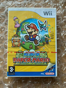 BRAND NEW SEALED SUPER PAPER MARIO FOR NINTENDO Wii