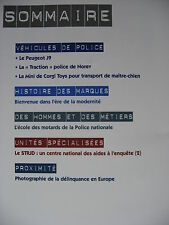 FASCICULE POLICE GENDARMERIE 31 PEUGEOT J9 /TRACTION NOREV / MINI CORGI