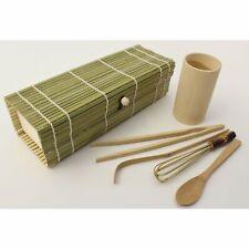 100% Natural Bamboo Japanese Matcha Tea Gift Set