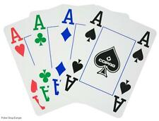 2 x 4 four COLOUR COPAG PLAYING CARDS + COPAG CUT CARD