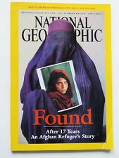 MAGAZINE National Geographic Apr 2002: Afghan Refugee,Tibet,Lions,Yucatan,China+