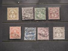 Switzerland, Scott# 69-74, 76, (# 69, unused, 1- #70 used, 1-#70 MNH)