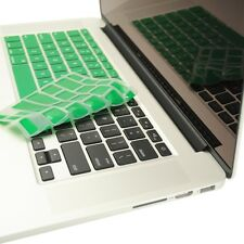 """GREEN Silicone Keyboard Cover for NEW Macbook Pro 13"""" A1425  with Retina display"""