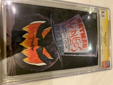 BATMAN MADNESS HALLOWEEN SPECIALCGC 8.5 Signature Series Signed by Tim Sale