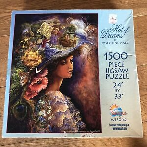 Josephine Wall Hat Of Dreams 1500 Piece Jigsaw Puzzle Rare