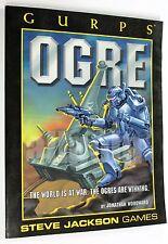 GURPS OGRE FIRST EDITION 2000 Steve Jackson Games SJG01995-6097 RULEBOOK