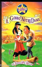 Il Gobbo di Notre Dame (1995) VHS Stardust - Le Favole + Belle