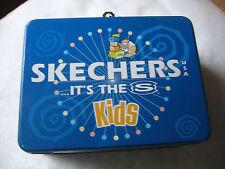Skechers USA Blue Metal Lunch Box - Skechers...It's the S Kids. Normal Size