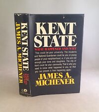 Kent State-James A. Michener-SIGNED!!-TRUE First Edition/1st Printing-VERY RARE