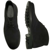 Mens M.Brother Black Formal Dress Shoes Laced Up Comfortable fashion Style NEW