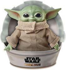 "Baby Yoda Doll Star Wars Mandalorian The Child 11"" Plush Mattel Gwd85"