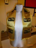 Écharpe, foulard double face en soie tissée  Hermès