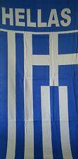 Strand Tuch Beach Towel Griechenland Greece Fahne new,neu,Fanshop Hellas Flagge